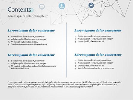 Technology Network PowerPoint Template, Slide 2, 15345, Technology and Science — PoweredTemplate.com