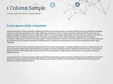 Technology Network PowerPoint Template, Slide 4, 15345, Technology and Science — PoweredTemplate.com