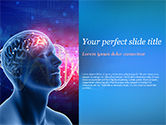 Medical: Brain Work Concept PowerPoint Template #15347