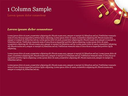 Music Show Background PowerPoint Template, Slide 4, 15355, Art & Entertainment — PoweredTemplate.com
