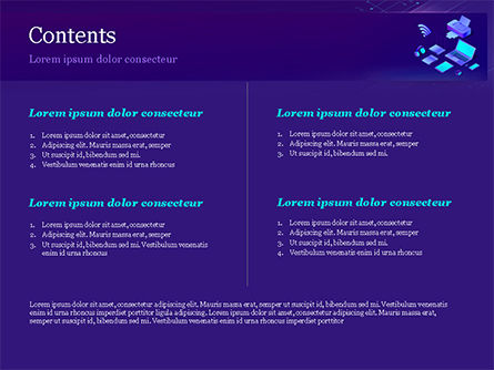 Modern Electronic Devices PowerPoint Template, Slide 2, 15356, Technology and Science — PoweredTemplate.com