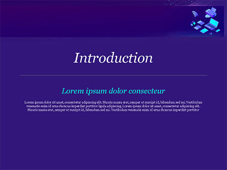Modern Electronic Devices PowerPoint Template, Slide 3, 15356, Technology and Science — PoweredTemplate.com