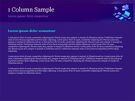 Modern Electronic Devices PowerPoint Template, Slide 4, 15356, Technology and Science — PoweredTemplate.com
