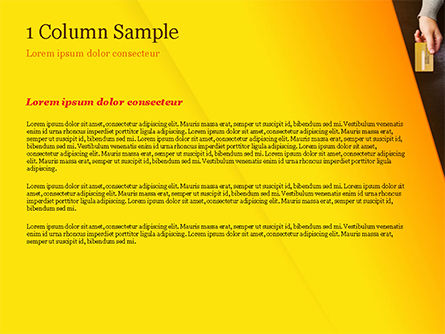 POS Terminal PowerPoint Template, Slide 4, 15357, Technology and Science — PoweredTemplate.com