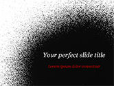 Abstract/Textures: Black Dots PowerPoint Template #15358