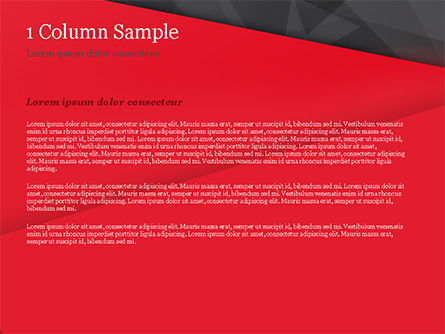 Red and Black Polygonal Background PowerPoint Template, Slide 4, 15361, Abstract/Textures — PoweredTemplate.com