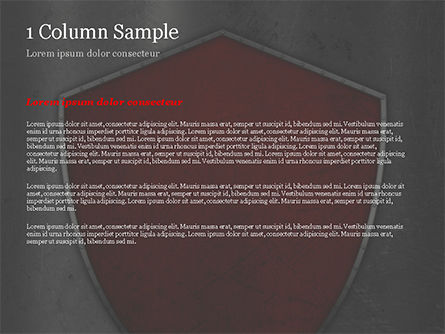Red Shield PowerPoint Template, Slide 4, 15362, Careers/Industry — PoweredTemplate.com