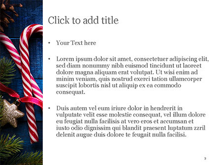 Christmas Decorations PowerPoint Template, Slide 3, 15363, Holiday/Special Occasion — PoweredTemplate.com