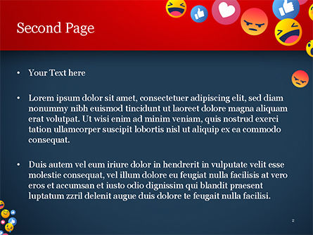 Smiley Background PowerPoint Template, Slide 2, 15368, Careers/Industry — PoweredTemplate.com