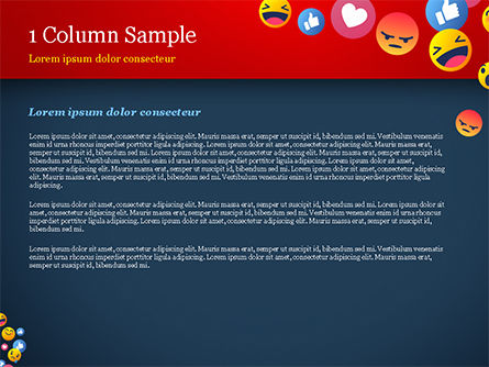 Smiley Background PowerPoint Template, Slide 4, 15368, Careers/Industry — PoweredTemplate.com