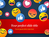 Careers/Industry: Smiley Background PowerPoint Template #15368