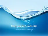 Nature & Environment: Drinking Water Supply PowerPoint Template #15369