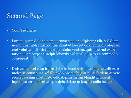 Congratulations Concept PowerPoint Template, Slide 2, 15370, Business Concepts — PoweredTemplate.com