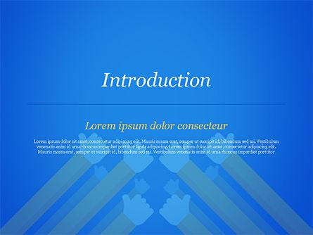 Congratulations Concept PowerPoint Template, Slide 3, 15370, Business Concepts — PoweredTemplate.com