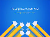Business Concepts: Congratulations Concept PowerPoint Template #15370