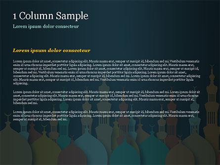 Eid al-Adha Theme PowerPoint Template, Slide 4, 15377, Religious/Spiritual — PoweredTemplate.com