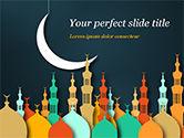 Religious/Spiritual: Modèle PowerPoint de thème de l'aïd al-adha #15377