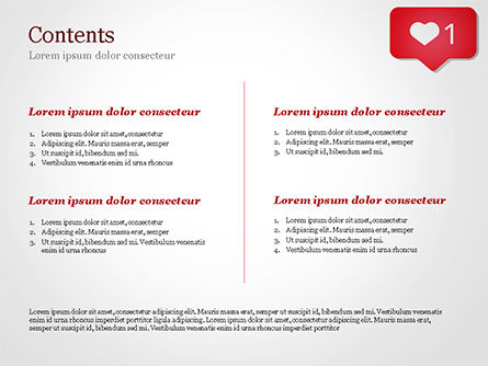 Instagram Like Icon PowerPoint Template, Slide 2, 15384, Careers/Industry — PoweredTemplate.com