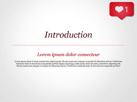 Instagram Like Icon PowerPoint Template, Slide 3, 15384, Careers/Industry — PoweredTemplate.com