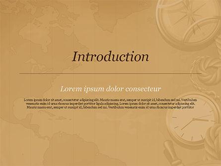 Adventure Background PowerPoint Template, Slide 3, 15388, Careers/Industry — PoweredTemplate.com