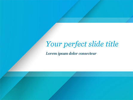 Abstract/Textures: Azure Abstraction PowerPoint Template #15395