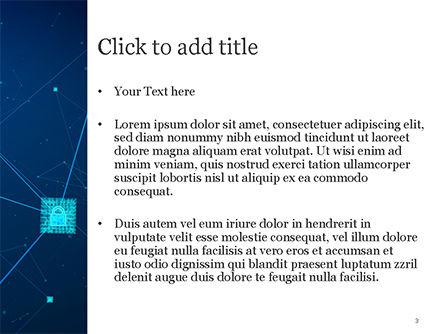 Blockchain Technology Concept PowerPoint Template, Slide 3, 15398, Technology and Science — PoweredTemplate.com