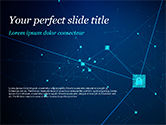 Technology and Science: Blockchain Technology Concept PowerPoint Template #15398