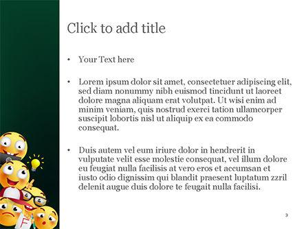Emojis PowerPoint Template, Slide 3, 15409, Careers/Industry — PoweredTemplate.com