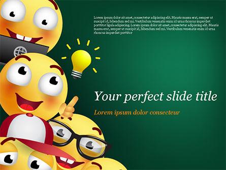 Emojis PowerPoint Template, 15409, Careers/Industry — PoweredTemplate.com