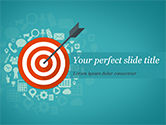 Business Concepts: Targeting Concept PowerPoint Template #15414