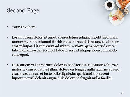 Ideal Breakfast PowerPoint Template, Slide 2, 15418, Food & Beverage — PoweredTemplate.com