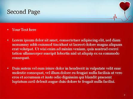 Blood Donation Concept PowerPoint Template, Slide 2, 15422, Medical — PoweredTemplate.com