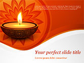 Holiday/Special Occasion: Modelo do PowerPoint - diwali #15455