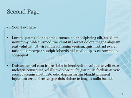 Life Insurance PowerPoint Template, Slide 2, 15457, Careers/Industry — PoweredTemplate.com