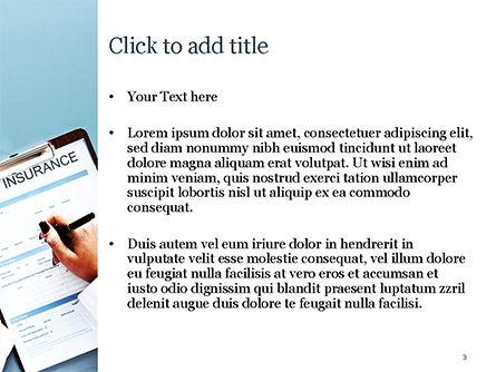 Life Insurance PowerPoint Template, Slide 3, 15457, Careers/Industry — PoweredTemplate.com