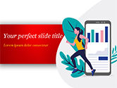 Careers/Industry: Running Tracker PowerPoint Template #15458