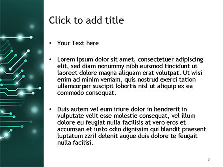 AI Brain PowerPoint Template, Slide 3, 15475, Technology and Science — PoweredTemplate.com