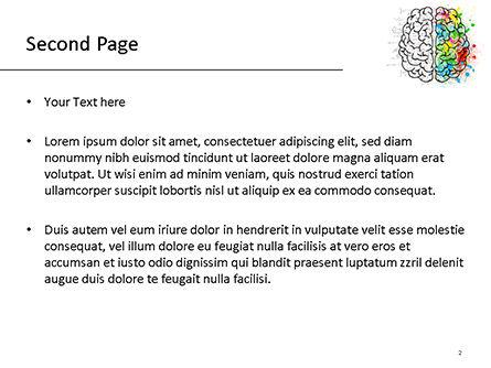 Mindset PowerPoint Template, Slide 2, 15500, Education & Training — PoweredTemplate.com