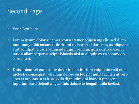 Encryption PowerPoint Template, Slide 2, 15510, Technology and Science — PoweredTemplate.com