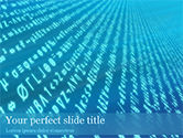 Technology and Science: Encryption PowerPoint Template #15510