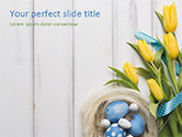 Holiday/Special Occasion: Nice Easter Background PowerPoint Template #15511