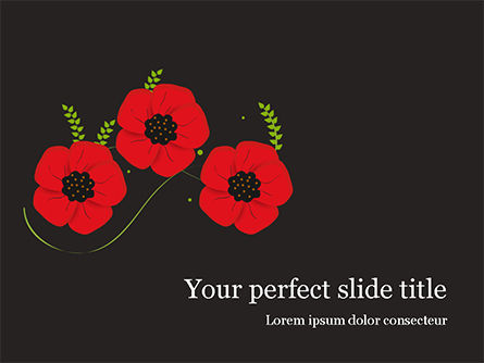 Holiday/Special Occasion: Anzac Day PowerPoint Template #15523