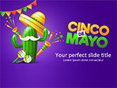 Holiday/Special Occasion: Holiday Cinco de Mayo PowerPoint Template #15536