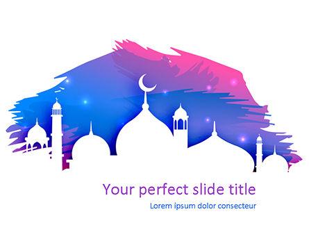 Religious/Spiritual: Templat PowerPoint Salam Kareem Ramadhan #15542