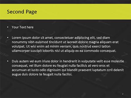 Online Shopping Concept PowerPoint Template, Slide 2, 15545, Business Concepts — PoweredTemplate.com
