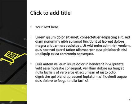 Online Shopping Concept PowerPoint Template, Slide 3, 15545, Business Concepts — PoweredTemplate.com