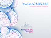 Holiday/Special Occasion: Islamic Greeting Card PowerPoint Template #15548
