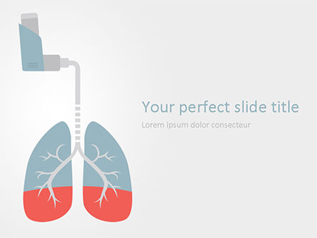 Asthma Concept Free Presentation Template For Google