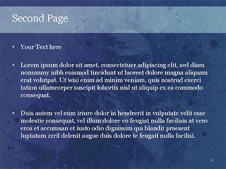 American Football Player PowerPoint Template, Slide 2, 15553, Sports — PoweredTemplate.com