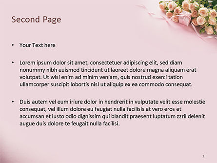 Romantic Gift PowerPoint Template, Slide 2, 15558, Holiday/Special Occasion — PoweredTemplate.com